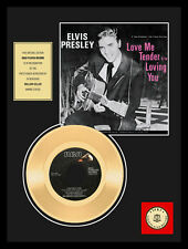 "ELVIS PRESLEY - LOVING YOU 7"" GOLDENE SCHALLPLATTE"