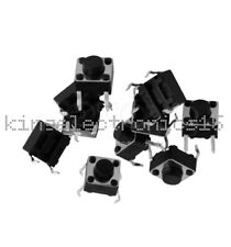 100PCS 6x6x5mm DIP Through-Hole 4pin Tactile Push Button Switch Momentary NEW