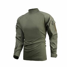 Mens Army Military Battle Combat Camo Tactical Uniform Hunting Game Shirts Tops