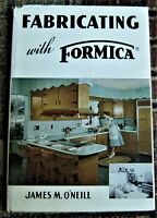 1958 book FABRICATING WITH FORMICA cabinetmaking/furniture making
