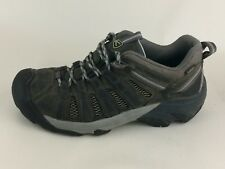 Keen Womens 10 M Voyageur Brown Leather Hiking Trail Sneaker Boot Shoes 1004270