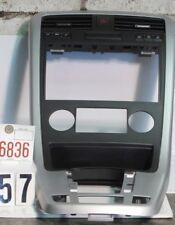 05-06 CHEVY EQUINOX RADIO DASH TRIM BEZEL SILVER CENTER VENT FOG LIGHTS