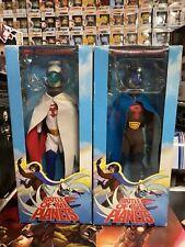 "Battle Of The Planets 12"" Mark & Jason Action Figures Medicom Gatchaman 1/6"