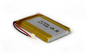 Lipolymer Akku 3.7 v - 900 mAh / Lipo Akku mit PCB (schutzschalter)