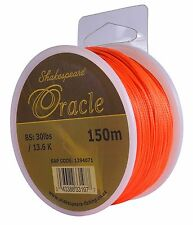 Shakespeare Oracle Salmon Backing Line Fly Line 30lb Orange