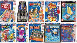 Board Games M.Y Tumbling Tower,Jumping Monkeys,What Am I,Domino Run, Bingo! More
