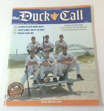 2005 tabloid magazine LONG ISLAND DUCKS ~ THE DUCK CALL V.4 #2 ~ baseball