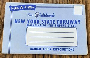 Vintage postcard packet of New York State Thruway 7 photos 1950's-60's
