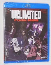 Sentai UNLIMITED PSYCHIC SQUAD COMPLETE COLLECTION - 2-Disc BluRay Set NIP
