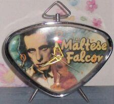 Vintage The Maltese Falcon Movie Alarm Clock Turner Warner Bros 1991