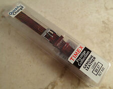 New Timex Colorful Reddish Brown Teju Lizard Grain 12mm Reg Watch Band Strap