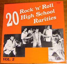V.A. - 20 ROCK 'N' ROLL HIGH SCHOOL RARITIES Vol. 2 LP