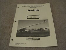 heavy equipment manuals books for snorkel boom lift for sale ebay rh ebay com Snorkel Lift Manuals Snorkel Lift Dealer