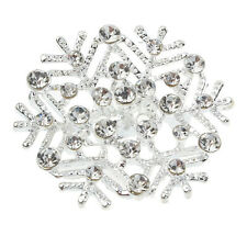 New Korean Joker Snowflake Brooch Diamond Corsage Brooch Pin Jewelry Salable
