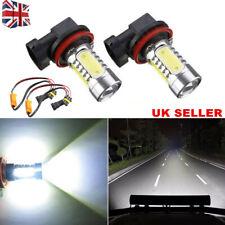 Pair LED Fog Light H11 For AUDI A3 S-Line A4 B6 B7 B8 A5 A6 C6 A8 Q5 Q7 Bulbs