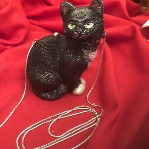 Judith Leiber Black Cat 'JINX'
