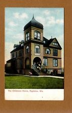 Appleton,WI Wisconsin The Childrens Children's Home used 1907