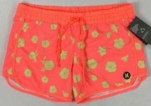 "Women's Hurley Supersuede Beachrider 5"" Shorts Size S"