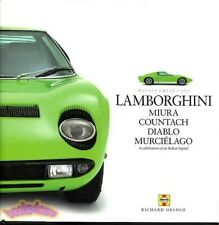 Lamborghini Book Celebration Dredge Haynes Countach Miura Diablo Murcielago Fits Lamborghini Jalpa