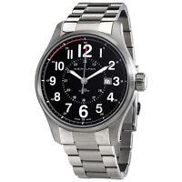 Hamilton Khaki Officer Automatic Black Dial Mens Watch H70615133