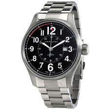 Hamilton Khaki Officer Automatic Black Dial Mens Watch H70615133