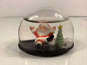 Kcare Plastic Snow Globe Christmas Santa