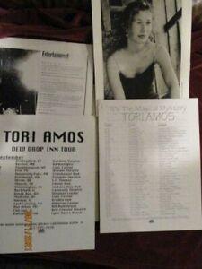 "Tori Amos -  Atlantic Records Media Guide ""Dew Drop Inn"""