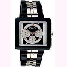 D&G Dolce and Gabbana DW0059 Creme Multifunction Unisex Watch