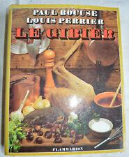 Le gibier par Paul Bocuse et Louis Perrier Flammarion 1973 photos