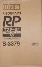 Riso s-3379 Master 07 a3 Risograph RP 2 erpack para FR 3910 3950 RP 210l 215 OVP a