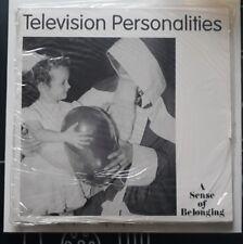 "TELEVISION PERSONALITIES - A SENSE OF BELONGING - UK 7""  1994  SEALED"