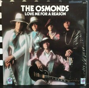 LP 33T - The Osmonds - Love Me For a Reason  - or.fr 1973 MGM Rec 2303 031