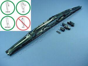 "Pilot Automotive WBP-20GM 20"" Universal Hot Rod Dual Wiper Blade Gun Metal Look"