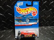 2000 Hot Wheels #71 Red Ferrari 333 SP w/Lace Wheels
