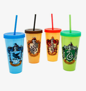 Harry Potter House Color Change Travel Cup Set of 4