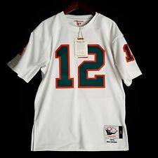 100% Authentic Bob Griese Dolphins Mitchell Ness NFL Jersey Size 52 2XL Mens