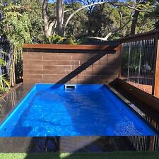 4m x 3.5m The Ultimate Plunge/Spa Pool Lifetime Structural Warranty