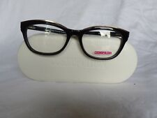 New Women's Cosmopolitan Eyeglass Frame Ashley Black Shimmer Plastic 52-17-140