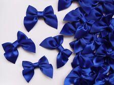 """2"""" (W) Royal Blue Satin Polyester Ribbon Bows DIY -Lots of 30pcs(R0018D)"""