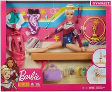 Barbie Gymnastics Playset with Doll, Balance Beam and Accessories BRAND NEW