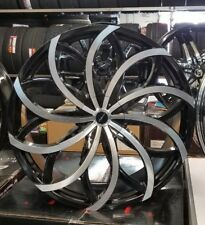 """26"""" INCH STRADA RIMS WHEELS ONLY FIT CHEVY INFINITI CADILLAC FORD DODGE GMC"""