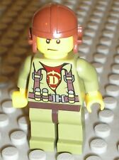 Personnage LEGO DINO Minifig Helicopter Pilot / Set 5883 5886 5887 5888
