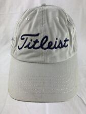 Tee Off Norwood Titleist Adjustable Adult Baseball Ball Cap Hat