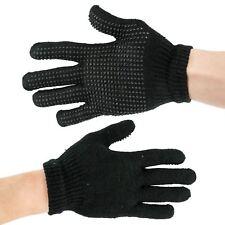 Mens Boys Girls Womens Magic Gripper Gloves Black Thermal Winter Warm One Size