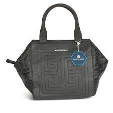 NWT JONATHAN ADLER Leather Nixon Astor Satchel Gray Handbag Purse $278.00