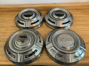 4 Oem Ford 1968 1969 1970 1971 1972 1973 1974 FORD 3/4 TON F250 DOG DISH HUBCAP