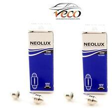 Neolux OSRAM 12 Volt 12v 5 WATT c5w n239 Targa Lampadine Scatola di 2