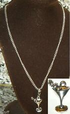 Markenlose Modeschmuck-Halsketten & -Anhänger aus Glas