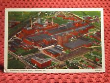 1940'S. ARMSTRONG LINOLEUM PLANT. LANCASTER, PA. POSTCARD J7