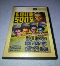 Four Sons 1940 (DVD) Don Ameche, Eugenie Leontovich, Mary Beth Hughes *RARE oop